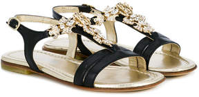 Roberto Cavalli embellished sandals