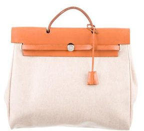 Hermes Toile Herbag GM - NEUTRALS - STYLE
