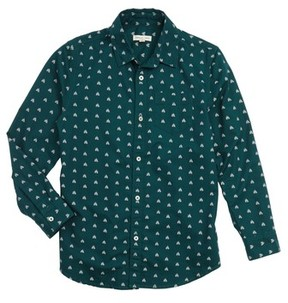 Tucker + Tate Boy's Pine Tree Sport Shirt