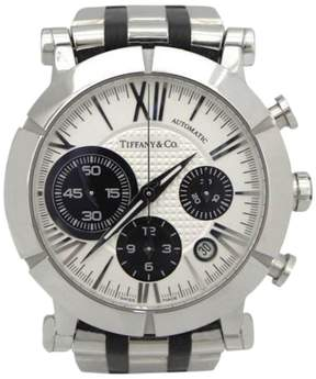 Tiffany & Co. Atlas Automatic Chronograph Stainless Steel Mens 42mm Wrist Watch