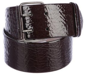 Brunello Cucinelli Patent Leather Waist Belt w/ Tags