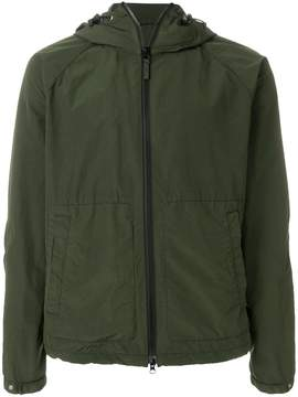 Aspesi hooded zipped jacket