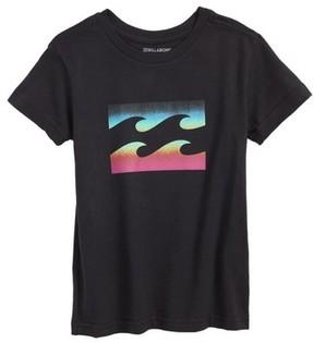 Billabong Boy's Team Wave Graphic T-Shirt