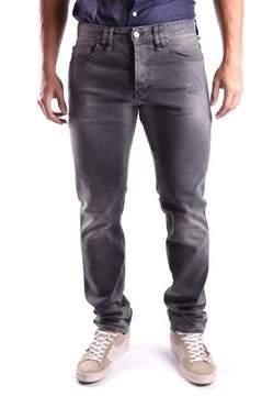 Galliano Men's Grey Cotton Jeans.