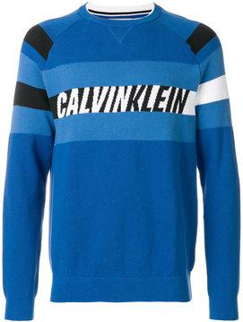 Calvin Klein logo patch sweater