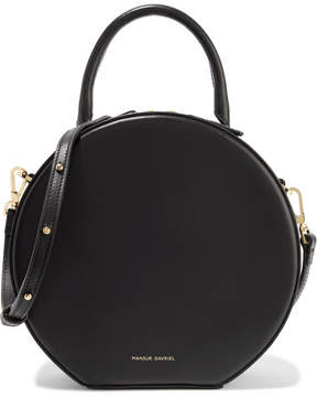 Mansur Gavriel Circle Leather Shoulder Bag - Black