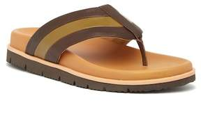 Donald J Pliner Leather Flip Flop