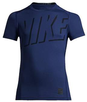 Nike Big Boys' (8-20) Pro Hypercool Fitted Training Top