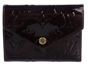 Louis Vuitton 2016 Vernis Victorine Wallet