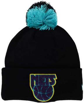 New Era New Jersey Nets Aqua Hook Knit Hat