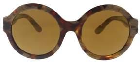 Dolce & Gabbana DG4331 31706H Havana Pear Round Sunglasses
