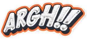 Anya Hindmarch Argh!!! sticker