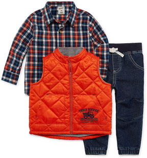 Arizona 3-pc. Pant Set Baby Boys