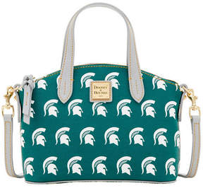 Dooney & Bourke Michigan State Spartans Ruby Mini Satchel Crossbody - GREEN - STYLE