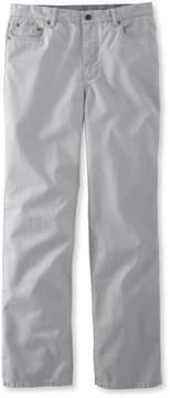 L.L. Bean L.L.Bean Lakewashed Five-Pocket Khakis, Standard Fit