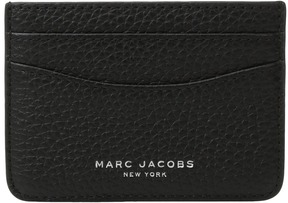 Marc Jacobs Gotham Card Case Credit card Wallet - BLACK - STYLE