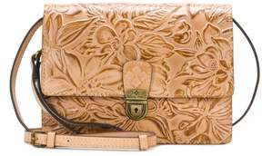 Patricia Nash Lanza Tooled Leather Crossbody Bag