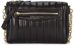 Donna Karan Erin Black Leather Cross-body Bag