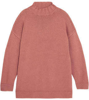 Alexander McQueen Oversized Cashmere Sweater - Antique rose