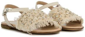 Ermanno Scervino crystal embellished sandals