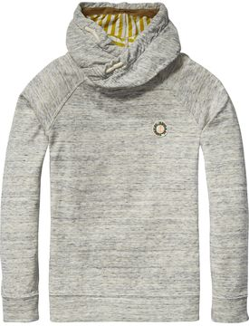 Scotch & Soda Bonded Twisted Hoodie