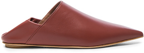 Marni Leather Sabot Mules