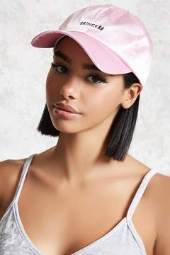Forever 21 Satin Princess Baseball Cap