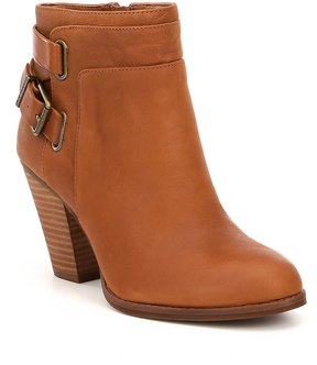 Gianni Bini Dayvis Leather Belted Booties