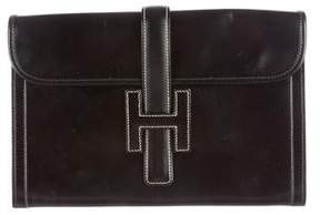 Hermes Jige 29 Clutch - BLACK - STYLE