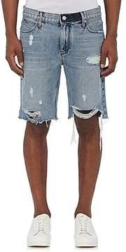 RtA Men's Distressed Denim Shorts