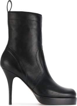Rick Owens platform boots