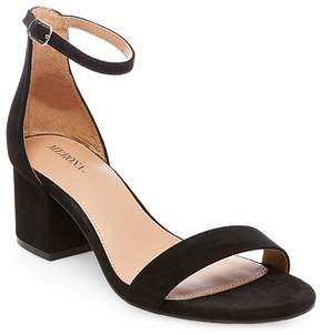 Merona Women's Marcella Low Block Heel Pumps with Ankle Straps