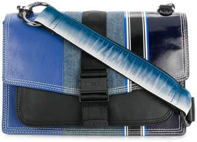 Diesel multi-textile crossbody bag