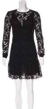 BA&SH Lace Long Sleeve Dress w/ Tags