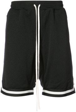 Fear Of God mesh striped trim shorts