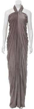 Amanda Wakeley Draped Evening Dress