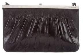 Sergio Rossi Leather Clutch