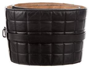 Chanel Quilted Waist Belt
