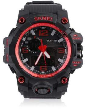 DAY Birger et Mikkelsen SKMEI Skmei Trendy 10 Digits Men'S Student Watch 50m Waterproof Big Dial LCD Second Week Hour Minutes Display Watch