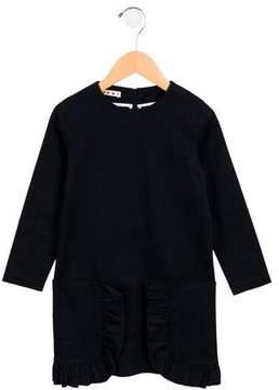 Marni Junior Girls' Ruffle-Trimmed Dress