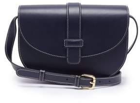 A.P.C. Eloise Leather Cross Body Bag - Womens - Dark Blue