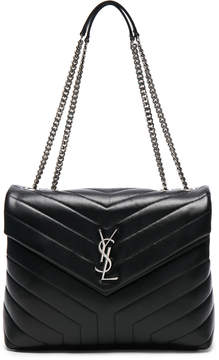Saint Laurent Medium Supple Monogramme Loulou Chain Bag