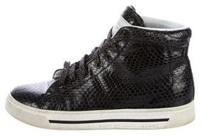 Marc by Marc Jacobs Embossed High-Top Sneakers