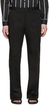 Dolce & Gabbana Black Cotton Trousers