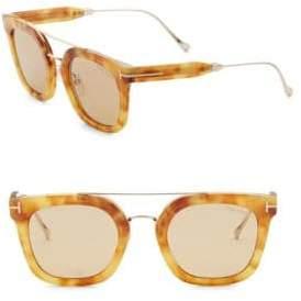 Tom Ford 50MM Wayfarer Sunglasses