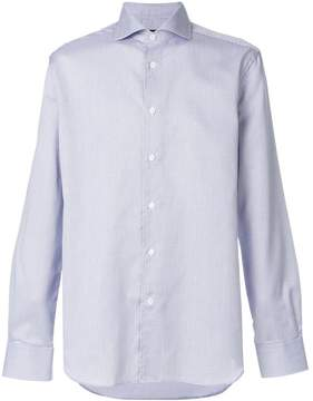 Corneliani fine check shirt