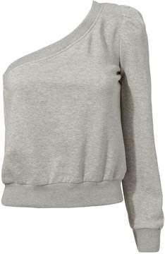 A.L.C. Crane One Shoulder Sweatshirt