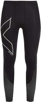 2XU Reflective compression performance leggings