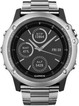 Garmin Unisex Fenix 3 Sapphire Titanium Bracelet Activity Tracking Smart Watch 30mm 010-01338-40