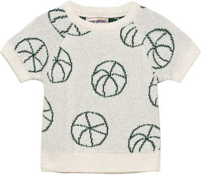 Bobo Choses Off-White Ball Baby Knit Jumper